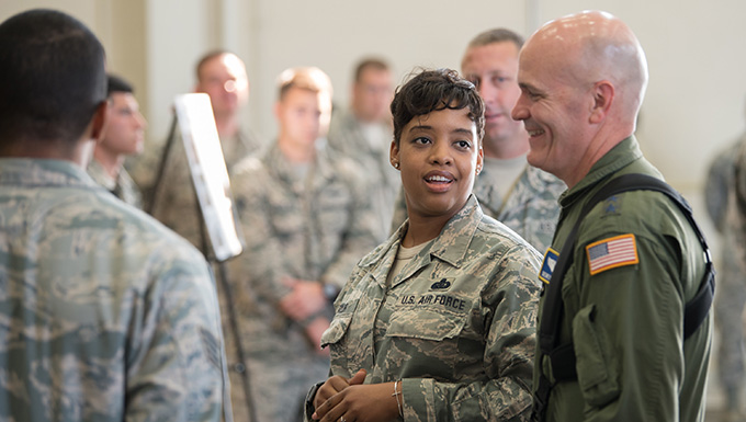 Air Mobility Commander visits Kentucky Air National Guard