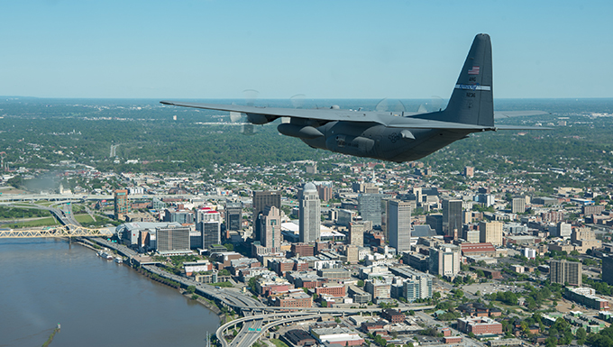 KyANG conducts flyover as part of Operation American Resolve