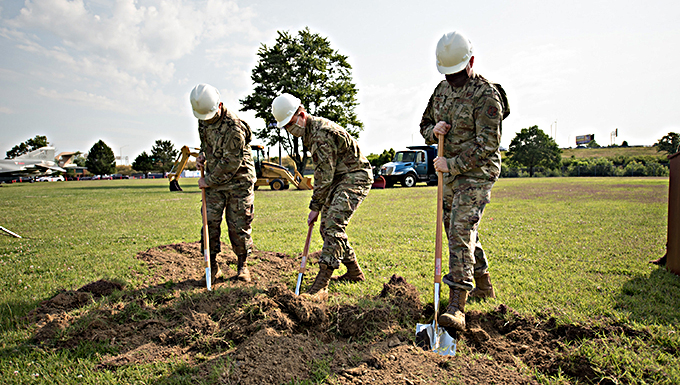 Kentucky Air Guard breaks ground on new Response Forces Facility