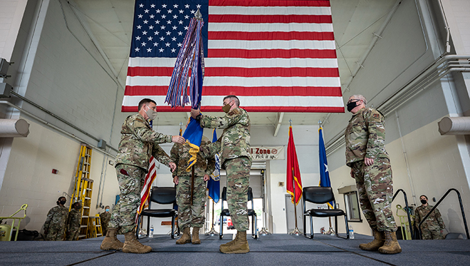 Bancroft assumes command of 123rd Airlift Wing