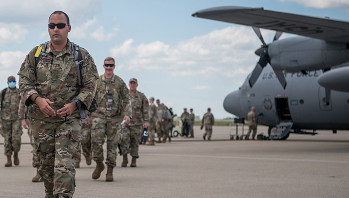 Kentucky Air Guard completes mission to receive 11,000 Afghan evacuees