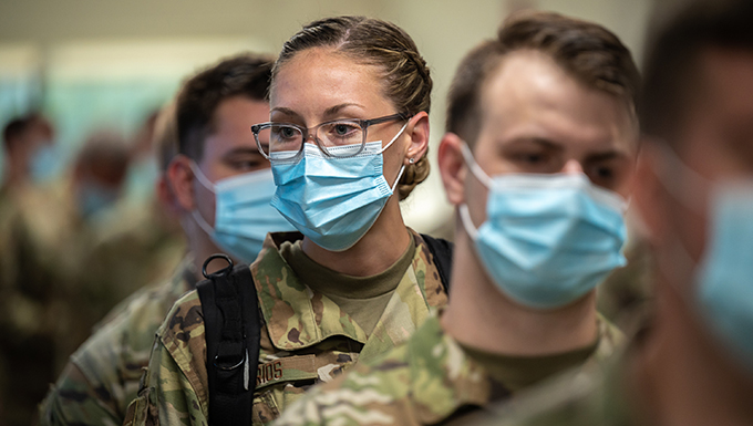 Kentucky Air Guard supporting COVID fight at Louisville hospitals