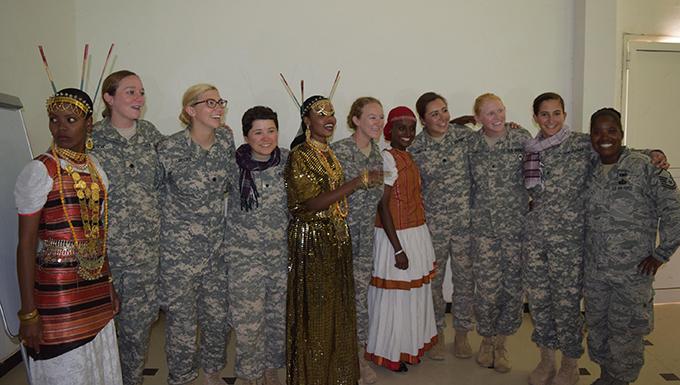 Kentucky Air National Guard Airman assists Army ROTC in Djibouti